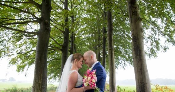 Bruidsreportage Raalte Esther en Cris
