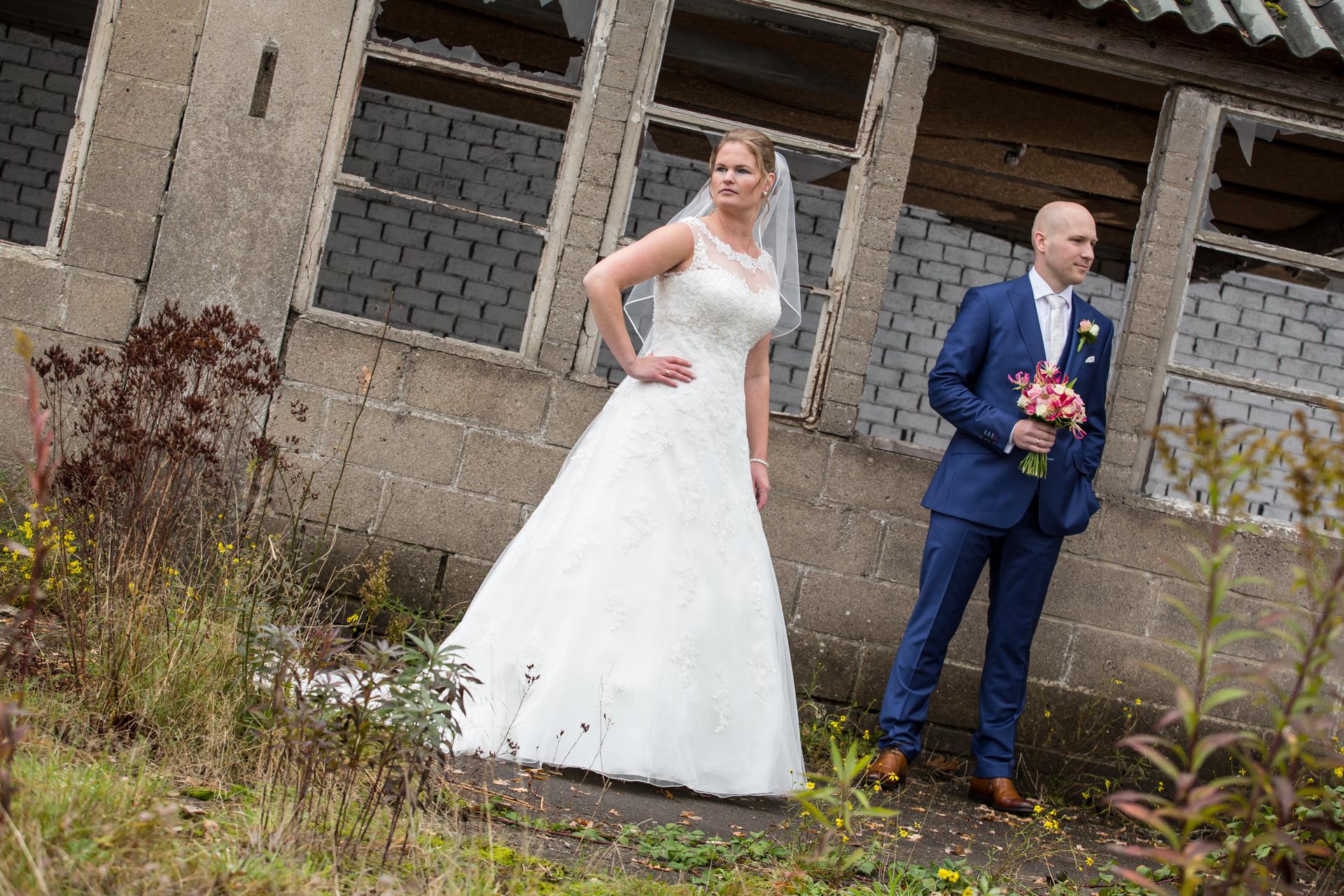 stoere bruidsfotografie